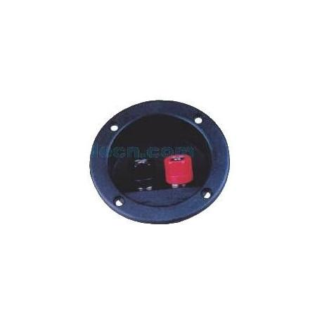 Conector 2 bornes para cajon subwoofer
