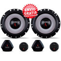 "KIT 2 VIAS 6"" BOMBER UPGRADE 200W / 100W RMS"