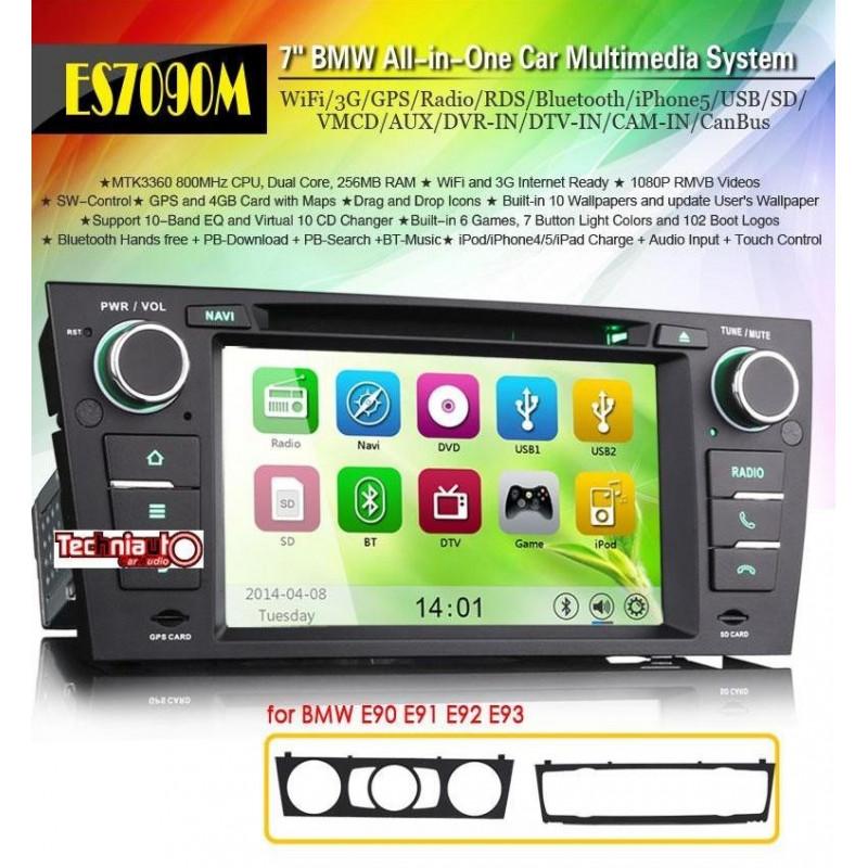 RADIO DVD OEM ESPECIFICO BMW E90 - Techniauto Car Audio