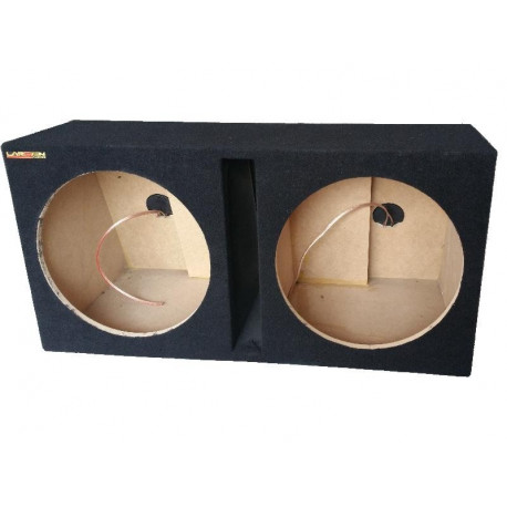 "Cajon doble subwoofer 2x15"" LARSEN AUDIO"