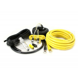 KIT CABLES 21 mm INSTALACION AMPLIFICADOR HOLLIWOOD CCA24