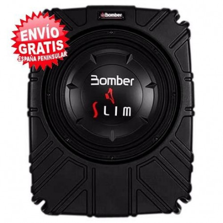 "SUBWOOFER 10"" BOMBER SLIM AMPLIFICADO"