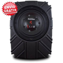 "SUBWOOFER 8"" BOMBER SLIM AMPLIFICADO"