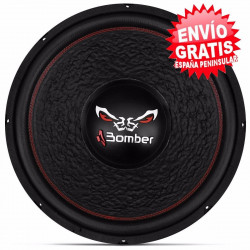 "SUBWOOFER 15"" BOMBER 2400W / 1200W RMS 4+4OHM"