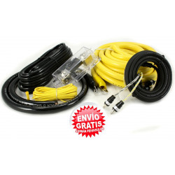 KIT CABLES 50mm INSTALACION AMPLIFICADOR 100% COBRE