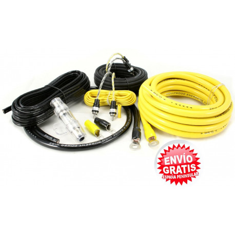 KIT CABLES 21 mm INSTALACION AMPLIFICADOR HOLLIWOOD PRO24