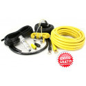 KIT CABLES 21 mm 100% COBRE INSTALACION AMPLIFICADOR HOLLIWOOD PRO24