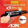 Convertidor de Señal RCA AJK X3 Ultra Slim con Remote