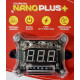 Voltímetro Digital AJK Nano Plus + 12v y HV con Remote