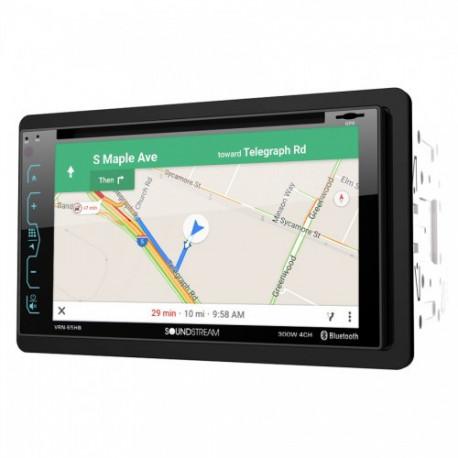 "RADIO DVD Y GPS 6,2"" SOUNDSTREAM VRN-65HB"