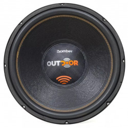 "SUBWOOFER 15"" BOMBER OUTDOOR 1200W RMS 2OHM"