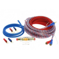 KIT CABLES 10mm INSTALACION AMPLIFICADOR DIETZ