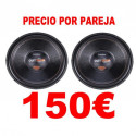 "2 SUBWOOFERS 15"" BOMBER OUTDOOR 500W RMS 4 OHM"