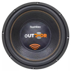 "SUBWOOFER 12"" BOMBER OUTDOOR 500W RMS 2OHM"