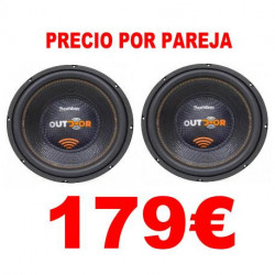 "SUBWOOFER 12"" BOMBER OUTDOOR 800W RMS 2OHM"