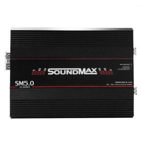 AMPLIFICADOR 1 CANAL SOUNDMAX SM5.0 1OHM FULL RANGE