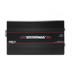 AMPLIFICADOR 1 CANAL SOUNDMAX SM8.0 2OHM FULL RANGE
