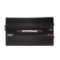 AMPLIFICADOR 1 CANAL SOUNDMAX SM8.0 8000W RMS 1OHM