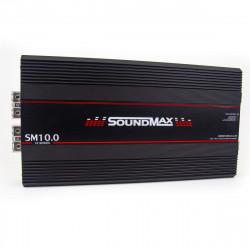 AMPLIFICADOR 1 CANAL SOUNDMAX SM10.0 10.000W RMS 1OHM