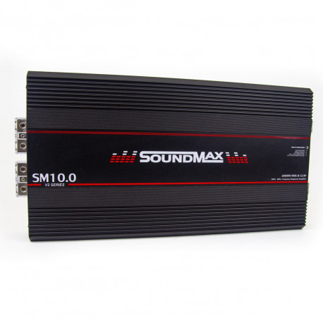 AMPLIFICADOR 1 CANAL SOUNDMAX SM10.0 1OHM FULL RANGE